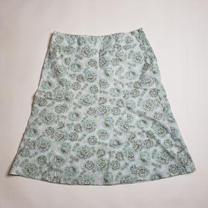 Eddie Bauer A Line Skirt